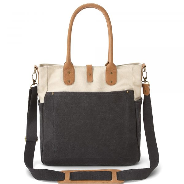 5579E1001_orlie_changing_bag_charcoal_front_on